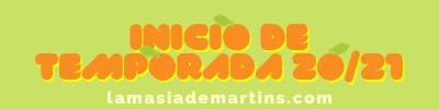 INICIO DE TEMPORADA 2020/2021