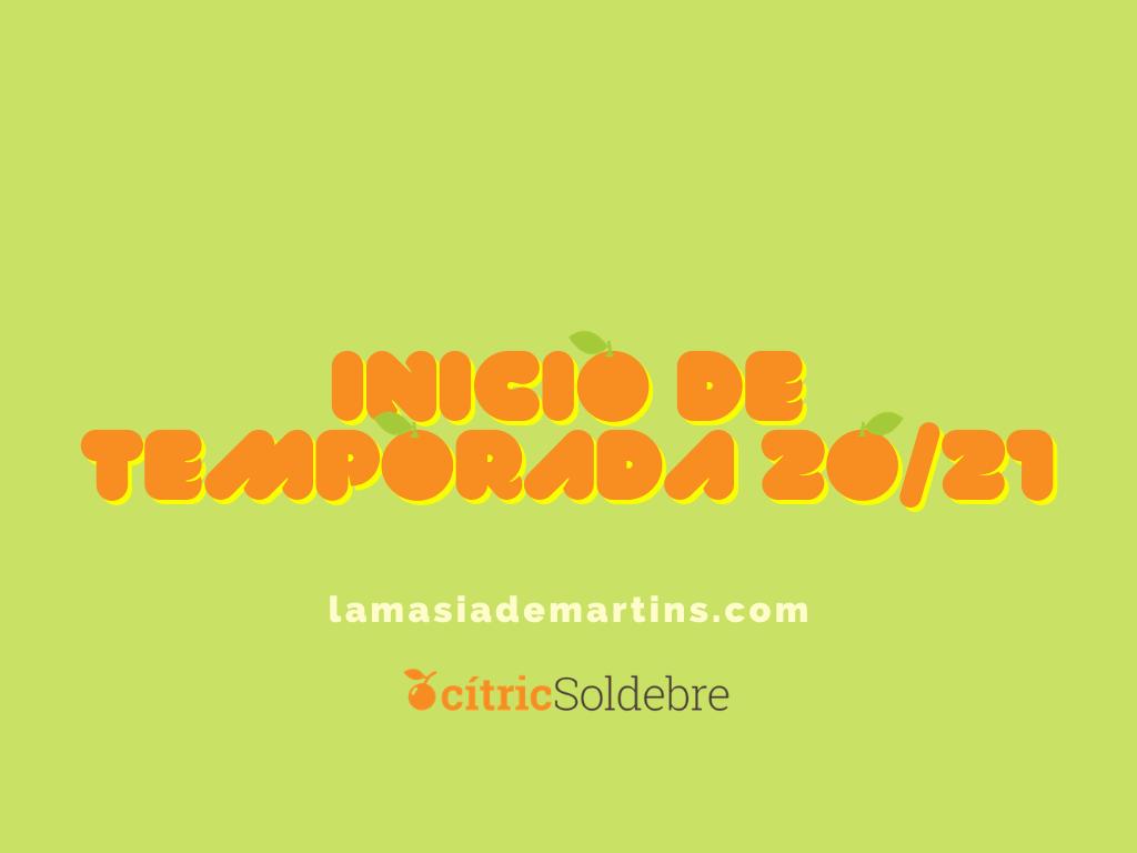 Inicio de temporada 2020/2021 Castella