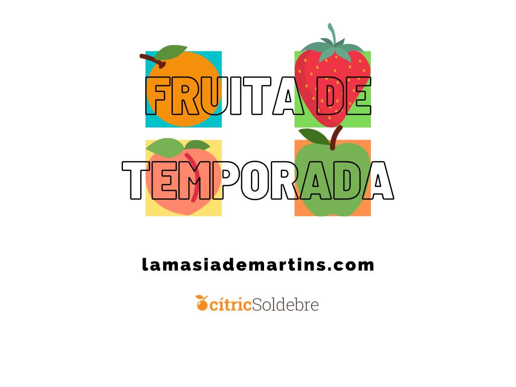 Fruita de temporada